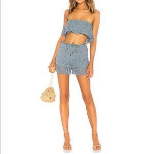 Tularosa Brooke top and willow shorts new like